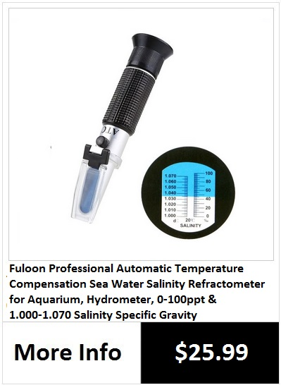 how to use a refractometer to measure salinity