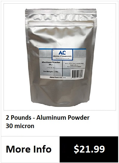 how to make german dark aluminum powder